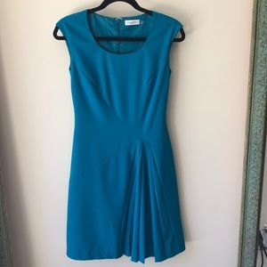 Calvin Klein Turquoise Dress